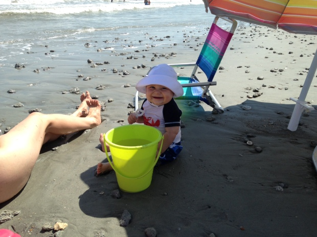 baby charlie beach