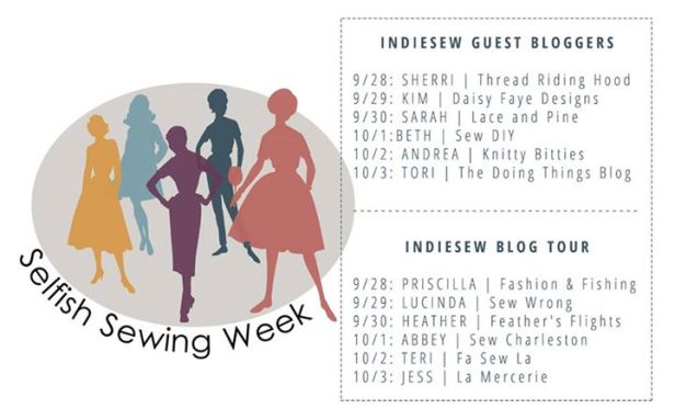 indie sew selfish sewing