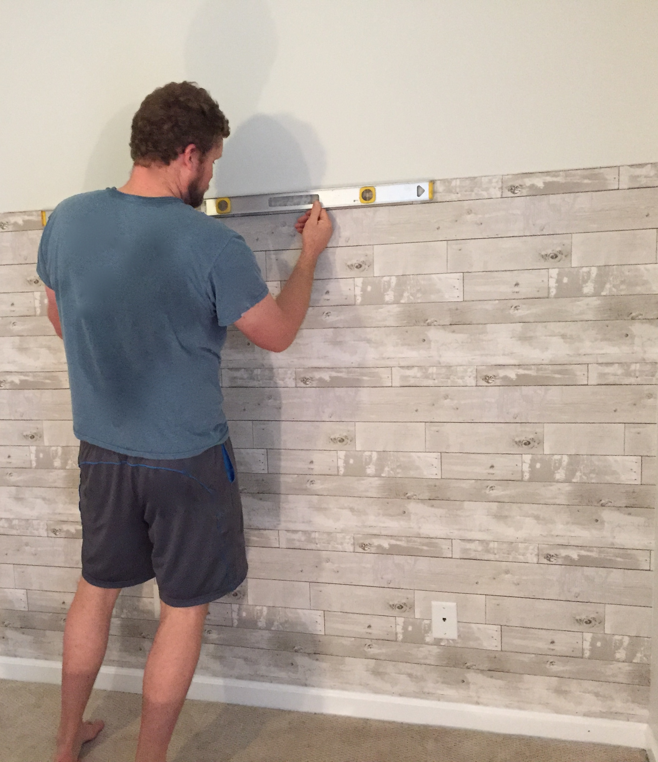 the easiest way to add fake shiplap to any room – the